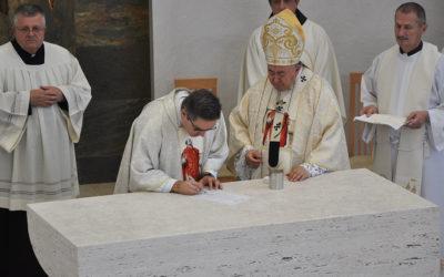 Posveta nove župne crkve sv. Ignacija Lojolskog