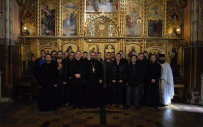 Posjet isusovačkih ministranata Križevačkoj eparhiji