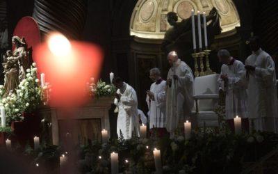 Papa: Pogled Bogu posvećenih osoba može biti samo pogled nade