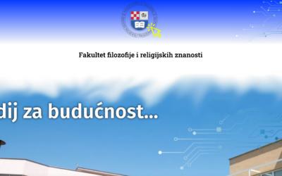Nova promotivna internetska stranica FFRZ-a