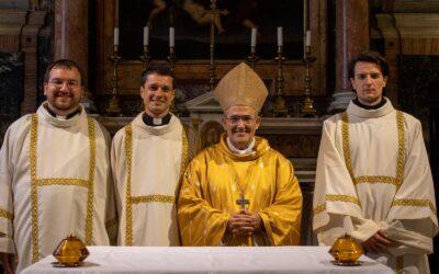 Trojica hrvatskih isusovaca zaređeni za đakone