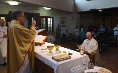 Svečani zavjeti isusovca p. Siniše Štambuka